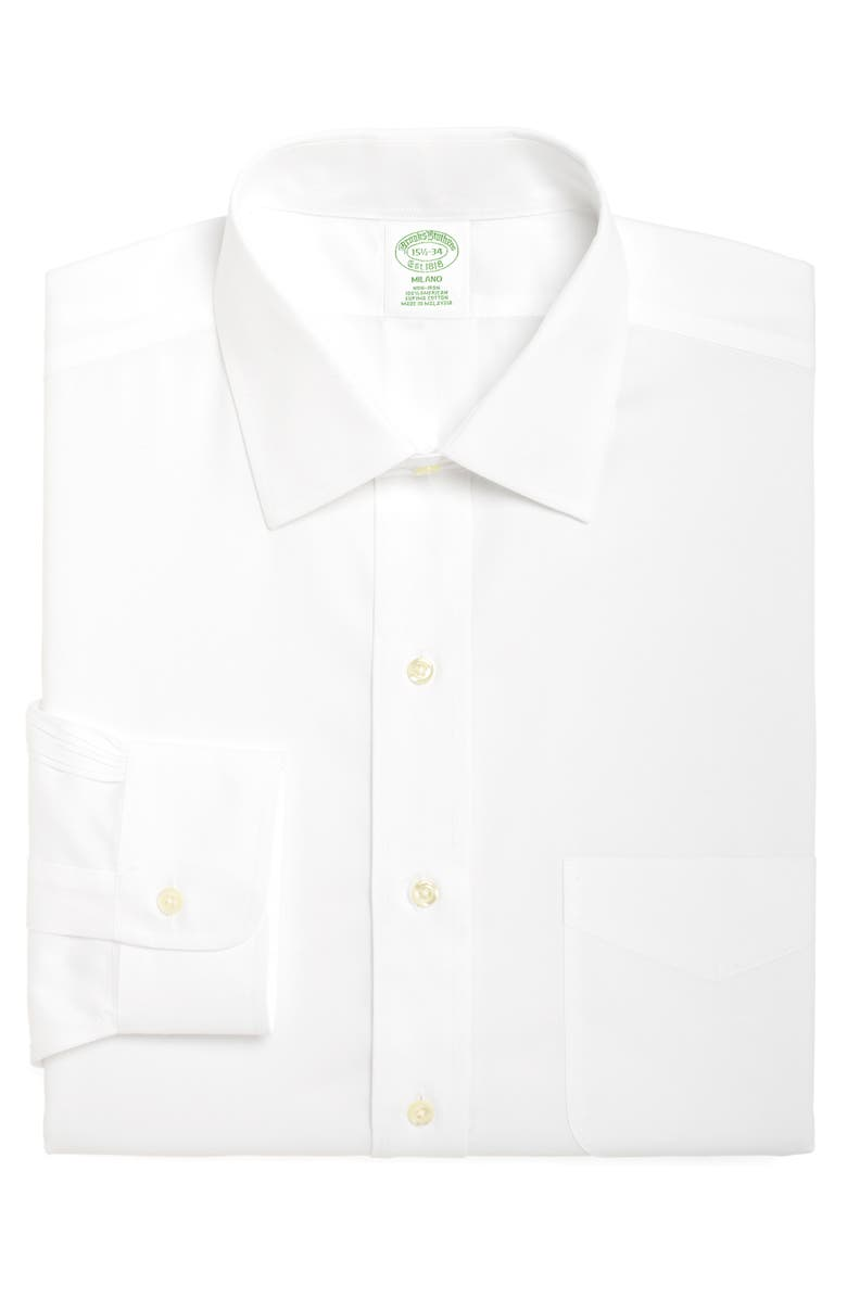 Brooks Brothers Milano Slim Fit Solid Dress Shirt 3 For 207