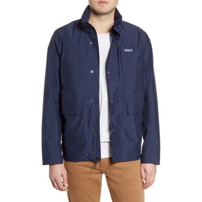 Patagonia Light Storm Water Repellent Jacket, Blue