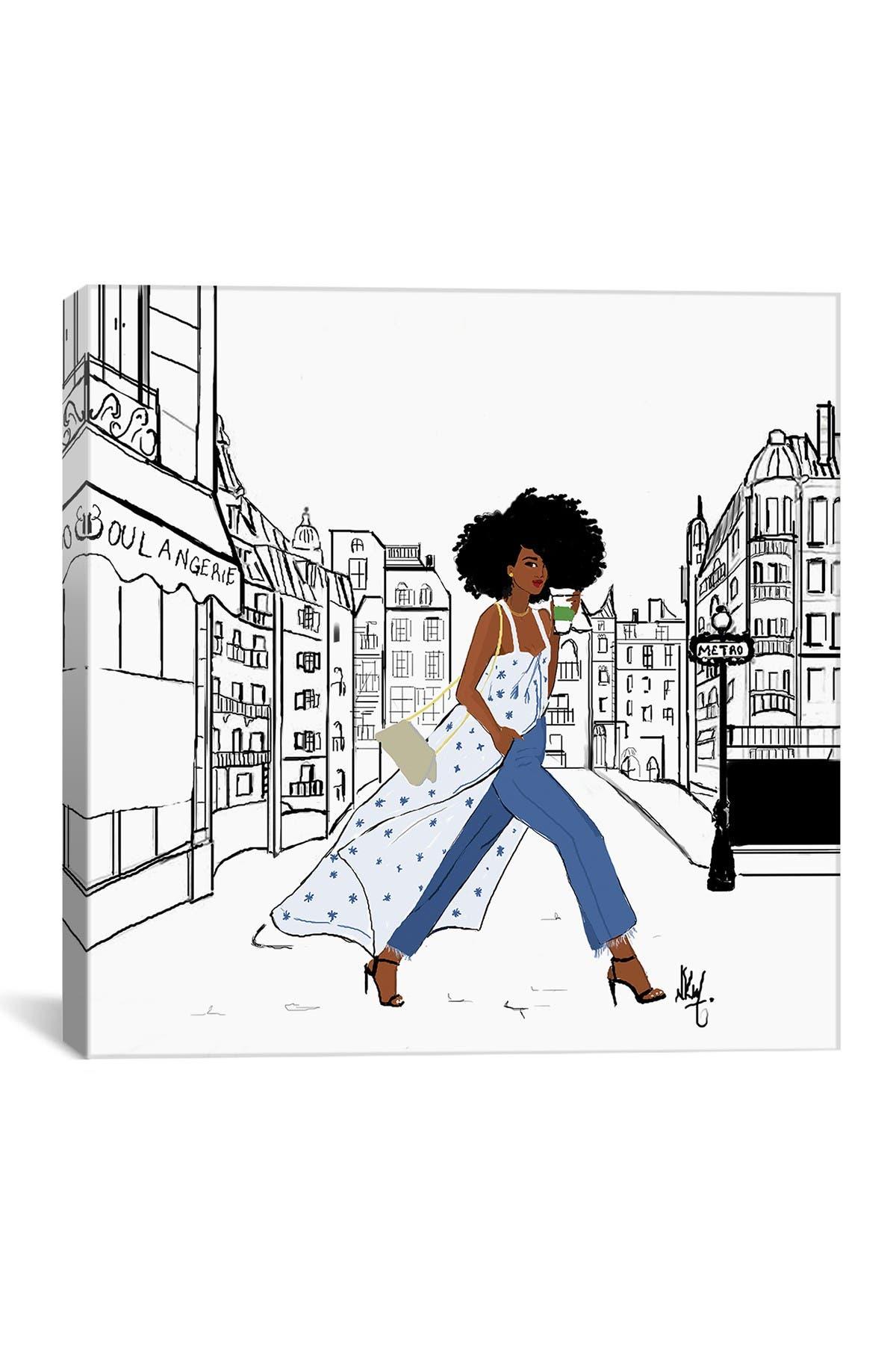 Image of iCanvas Parisienne by Nicholle Kobi