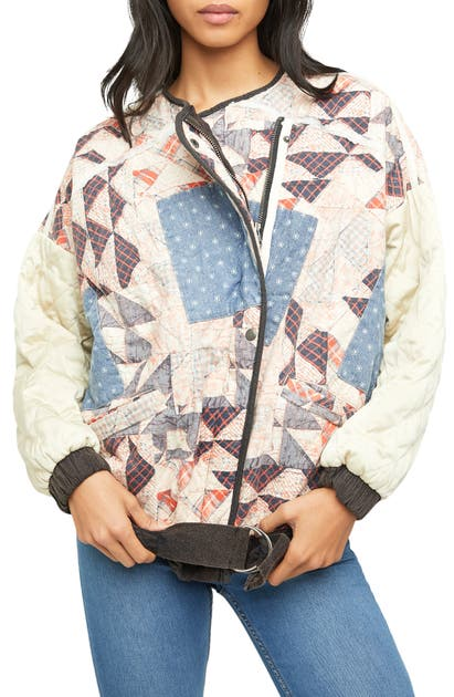 Free People Bomber jackets RUDY QUILTED BOMBER JACKET