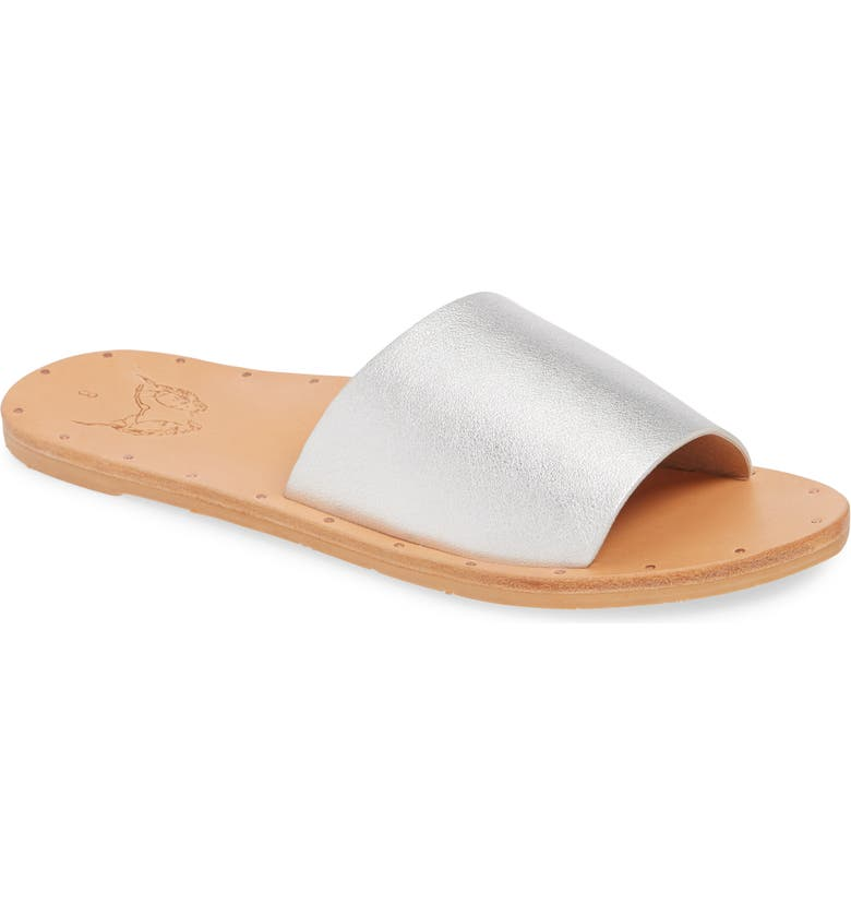 BEEK Mockingbird Sandal, Main, color, SILVER/ NATURAL