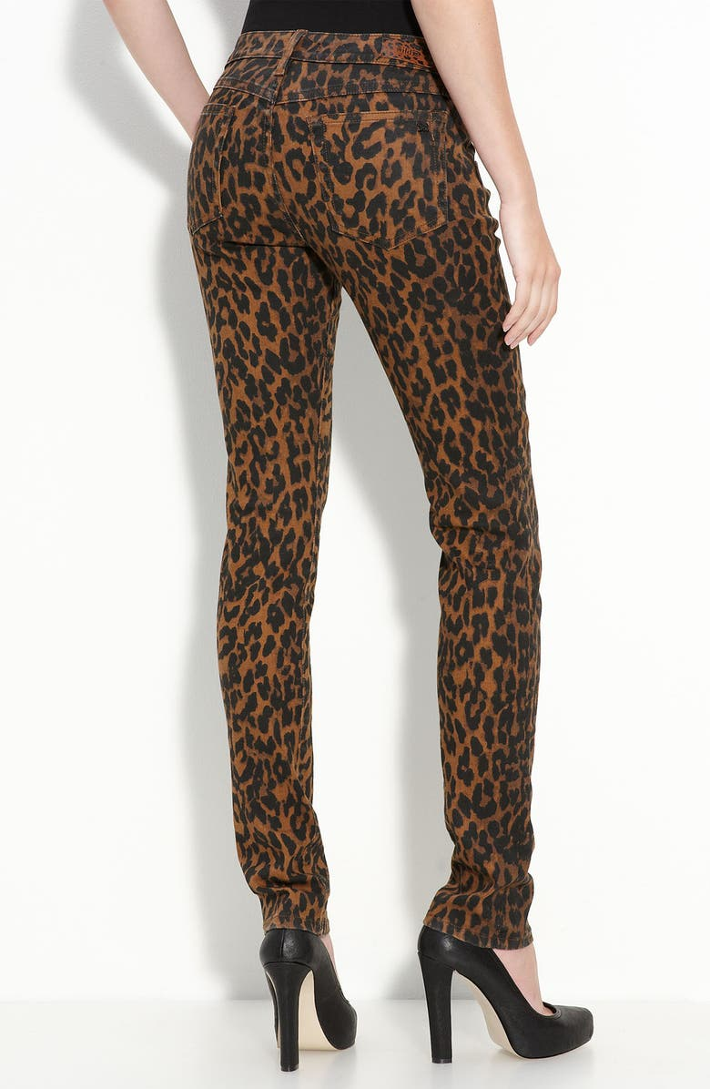 d0986cf4fd1d Leopard Print Skinny Stretch Denim Jeans, Main, color, 200