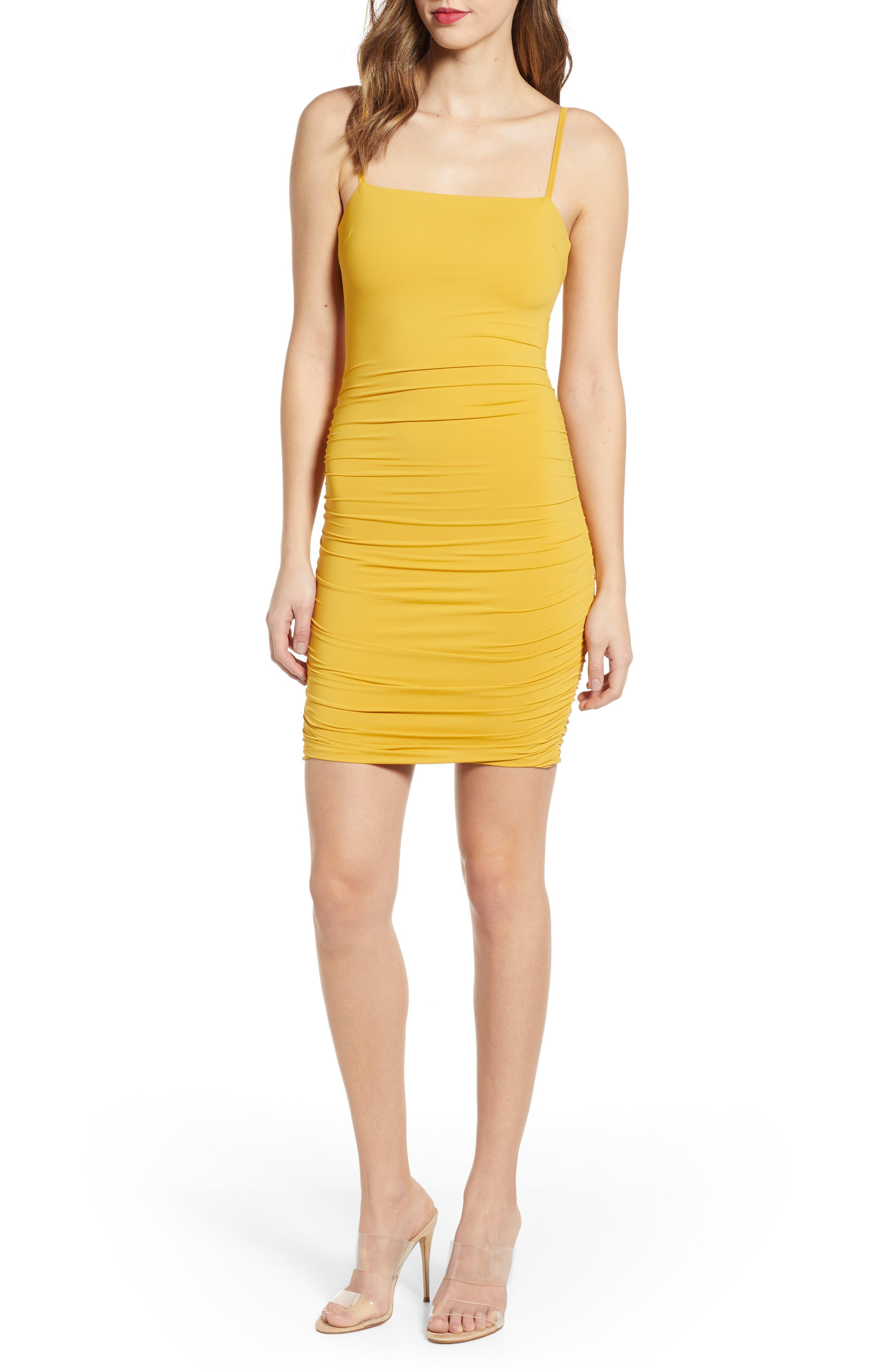 Tiger Mist Sunrise Dress, Yellow