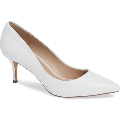 Charles By Charles David Addie Pump, White