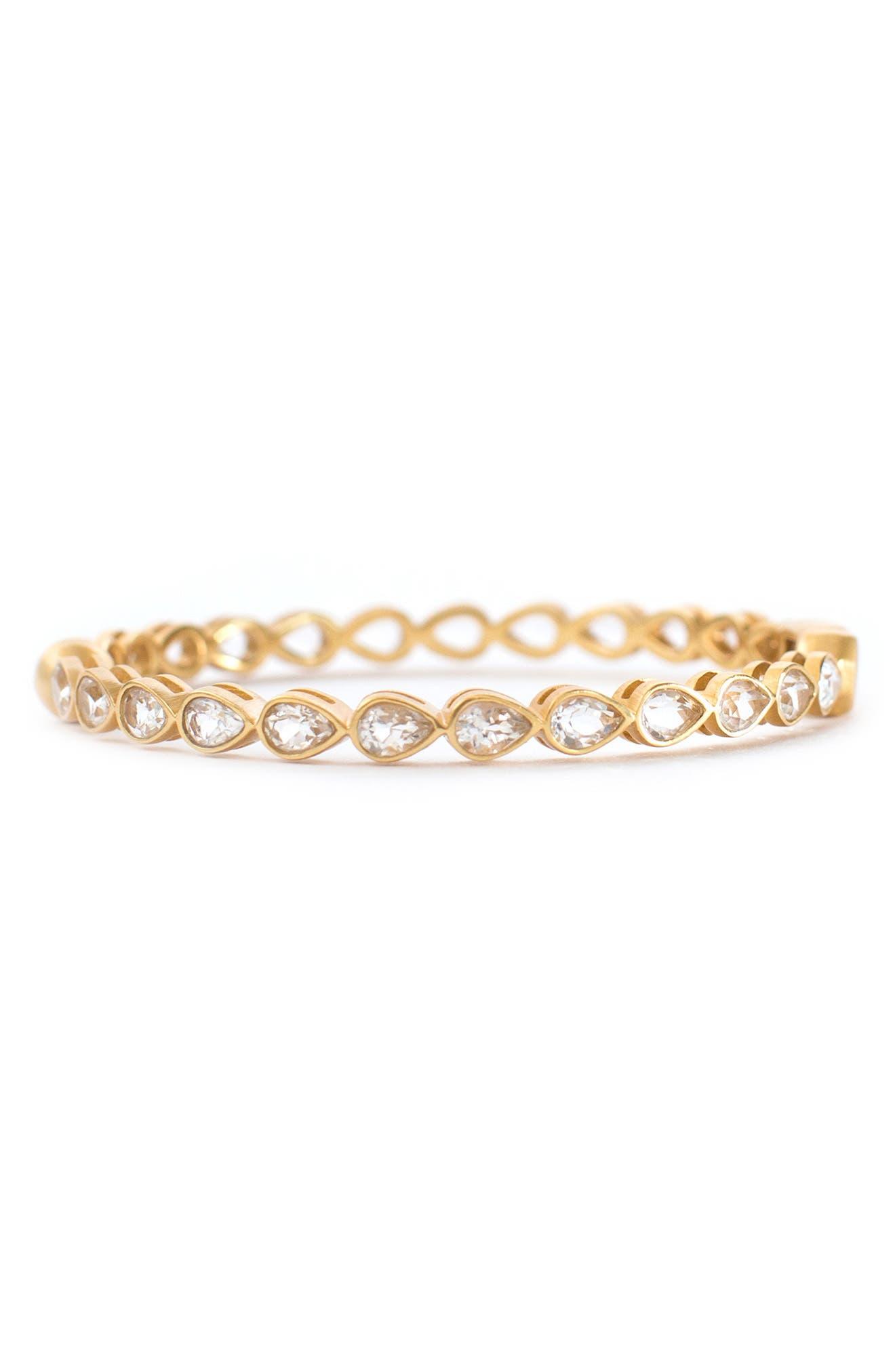 Posy Crystal Bangle Bracelet