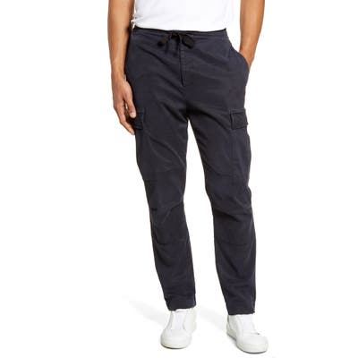 Officine Generale Jay Slim Fit Cargo Pants, Blue