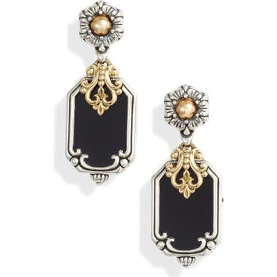 Konstantino Calypso Shield Drop Earrings