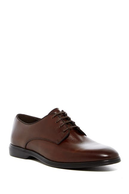 Image of A TESTONI Burnished Toe Derby