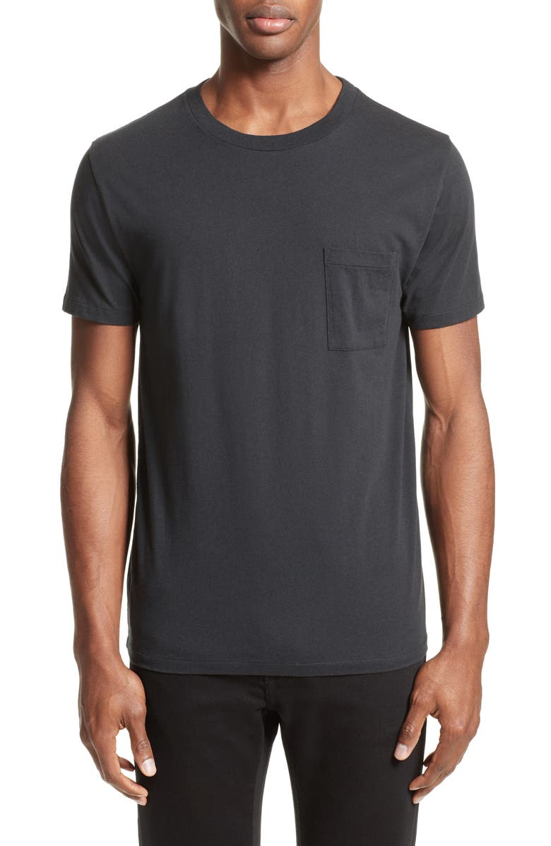LEVI'S<SUP>®</SUP> MADE & CRAFTED<SUP>™</SUP> Pocket T-Shirt, Main, color, Black