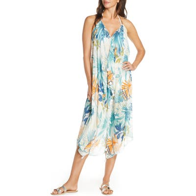 Pool To Party Branch Breeze Cover-Up Dress, Size One Size - Ivory