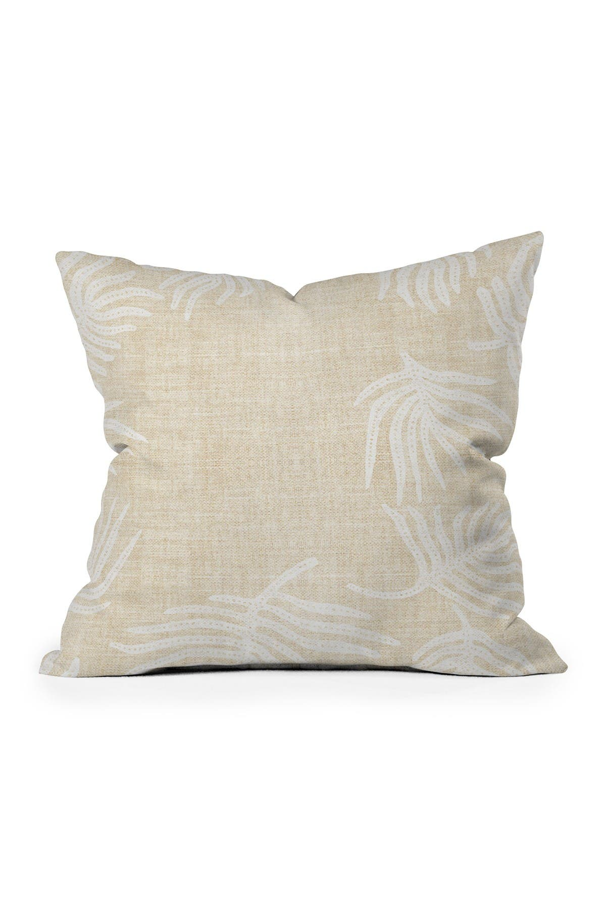 Image of Deny Designs Holli Zollinger Palm Light Square Throw Pillow