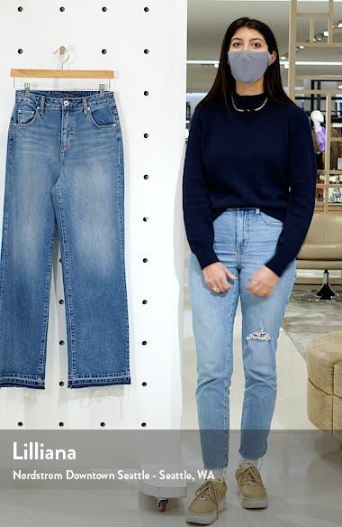 Sophia High Waist Wide Leg Jeans, sales video thumbnail