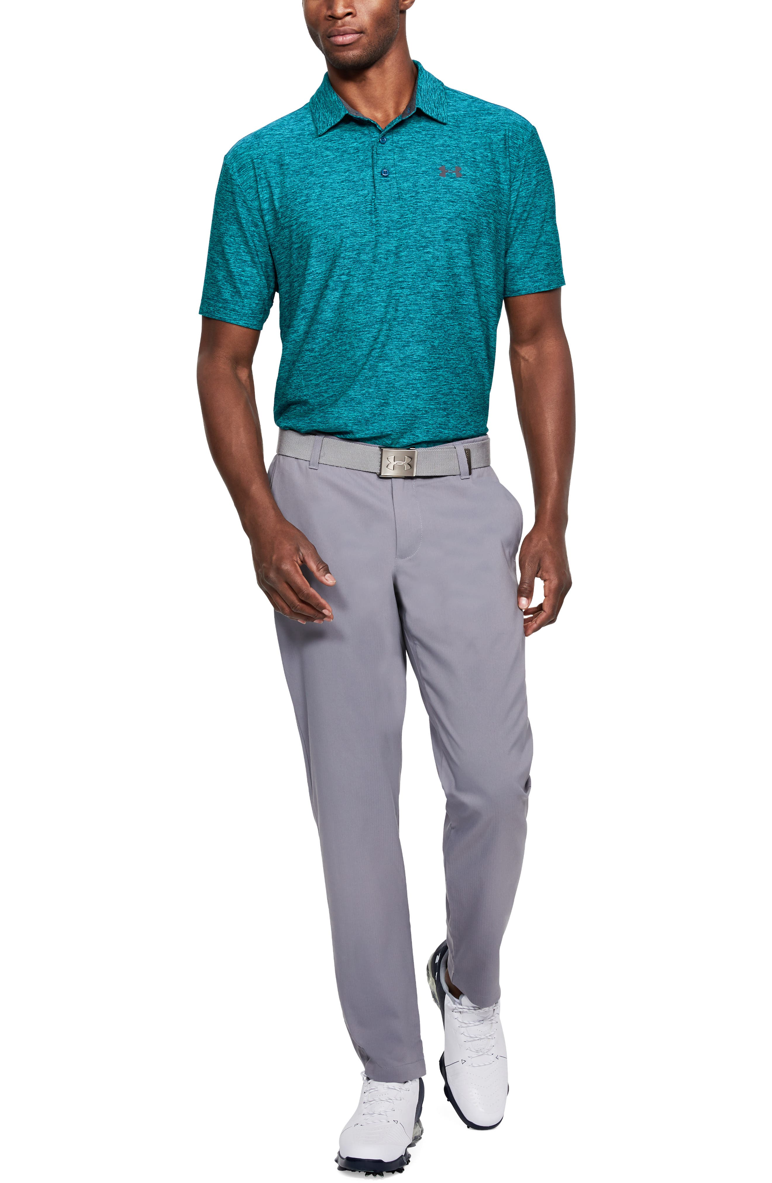 ,                             'Playoff' Loose Fit Short Sleeve Polo,                             Alternate thumbnail 76, color,                             477