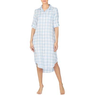 Lauren Ralph Lauren Ballet Sleep Shirt, Blue