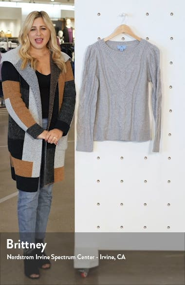 Entwine Cable Knit Sweater, sales video thumbnail