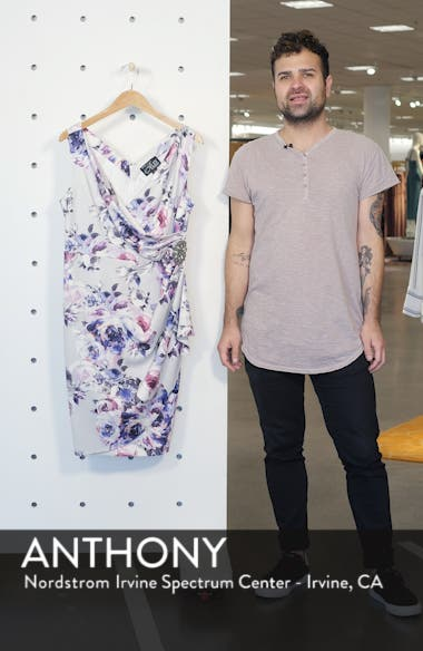 Side Ruched Cocktail Dress, sales video thumbnail