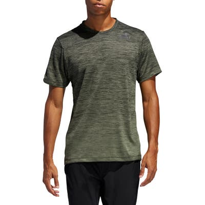 Adidas Gradient Climalite T-Shirt, Green