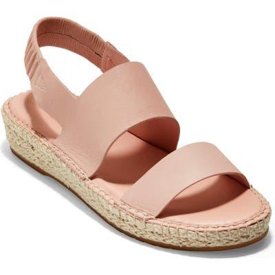 Cole Haan Cloudfeel Espadrille Sandal, Pink