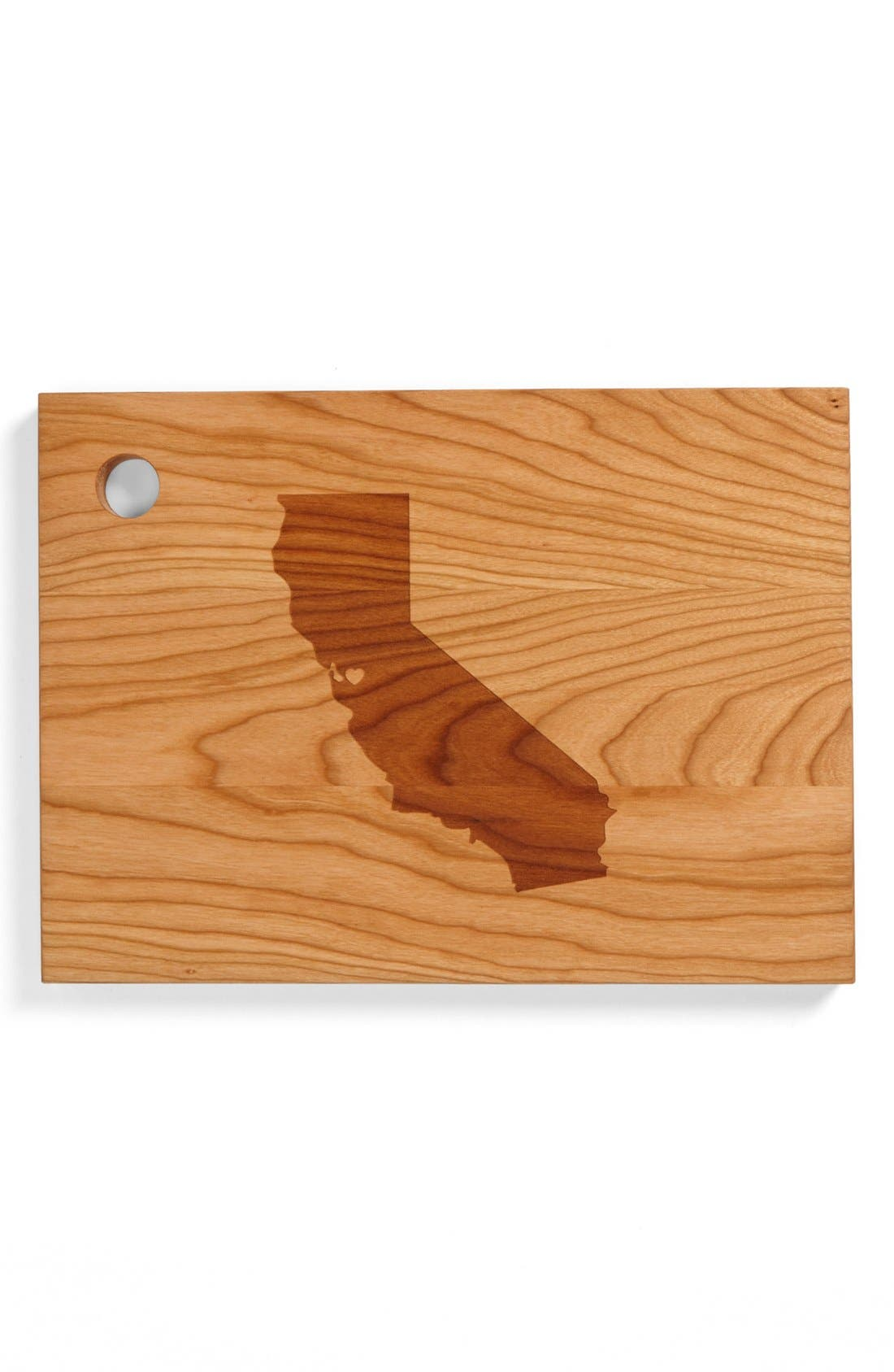 ,                             'State Silhouette' Cutting Board,                             Main thumbnail 5, color,                             204