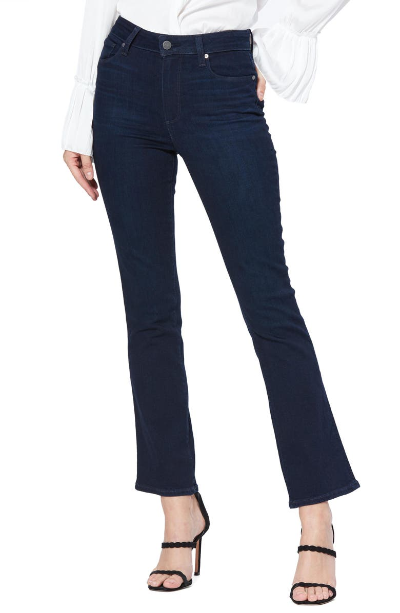 PAIGE Claudine High Waist Ankle Flare Jeans, Main, color, TELLURIDE