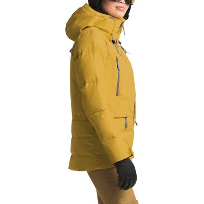 The North Face Pallie 550 Fill Power Down Hooded Jacket, Yellow