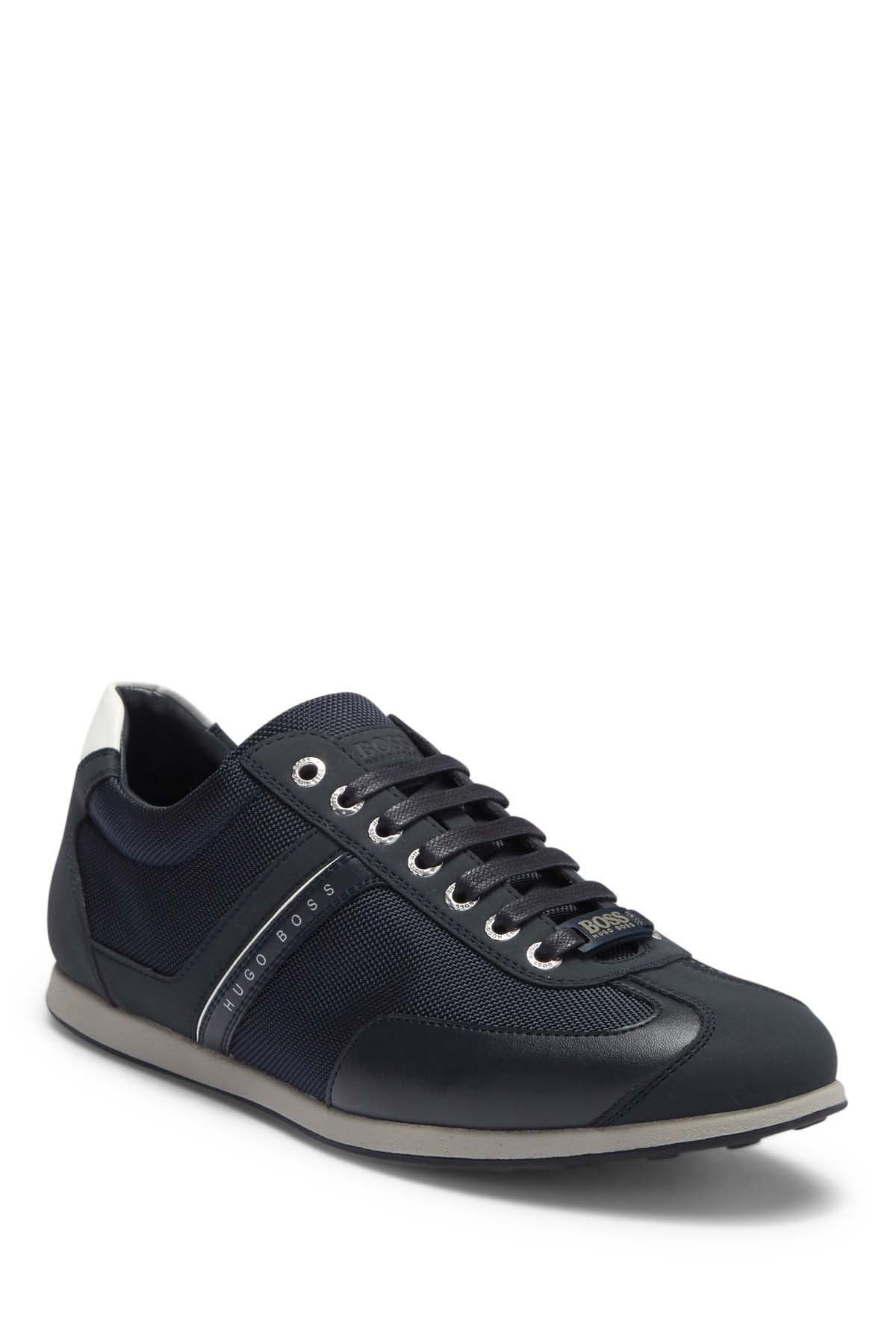 Image of BOSS Space Low Top Mix Media Sneaker
