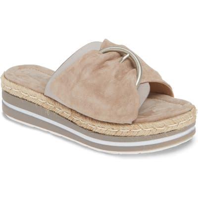 Sheridan Mia Weft Slide Sandal, Beige