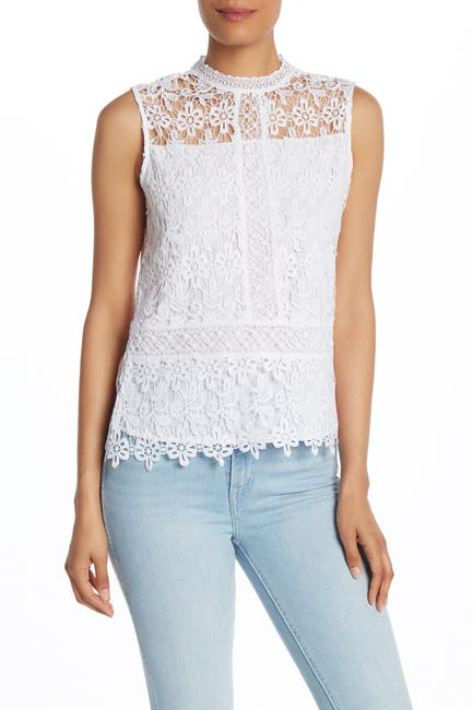 Image of Laundry By Shelli Segal Lace Venise Top