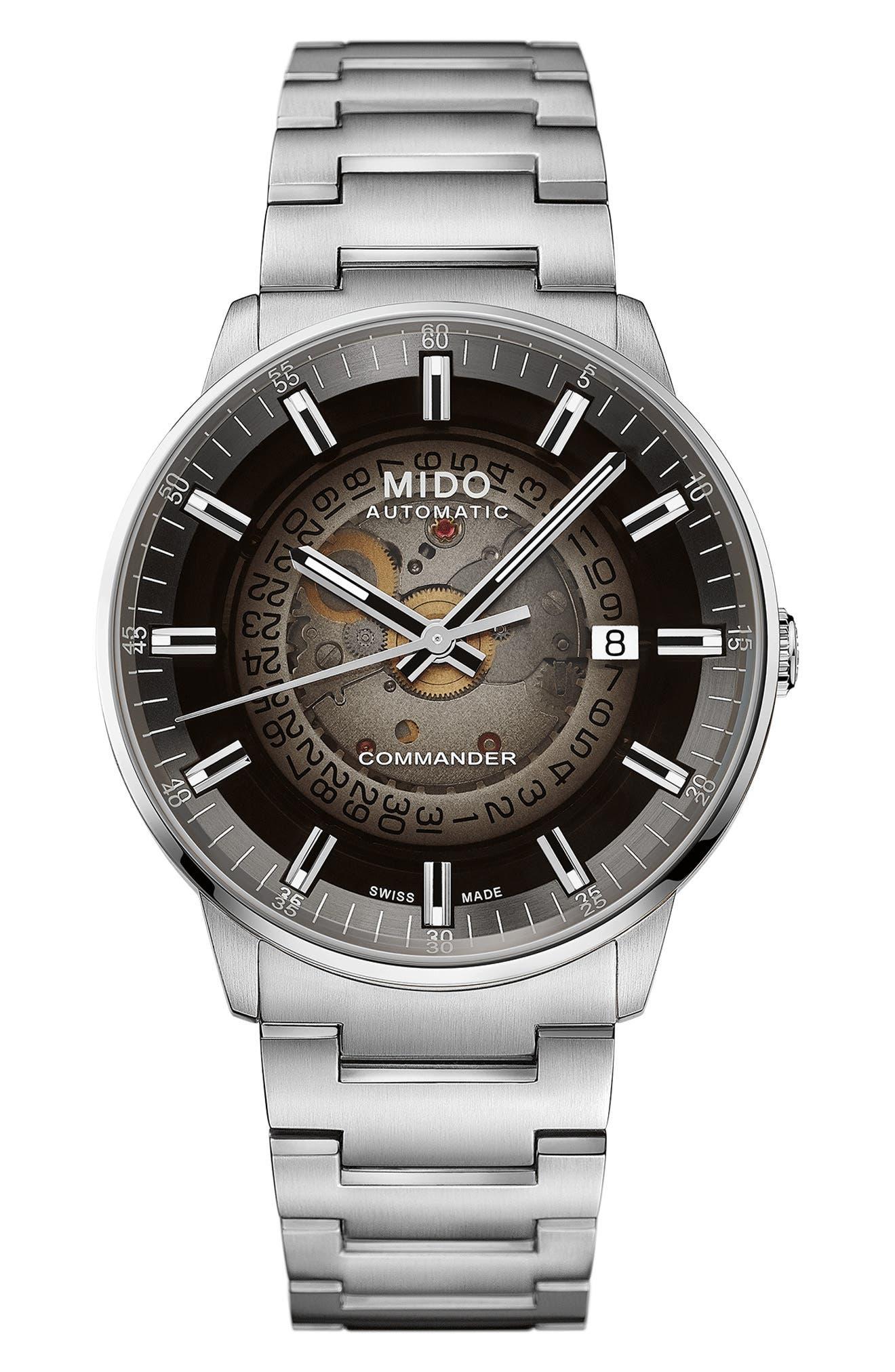 Commander Gradient Skeletal Automatic Bracelet Watch
