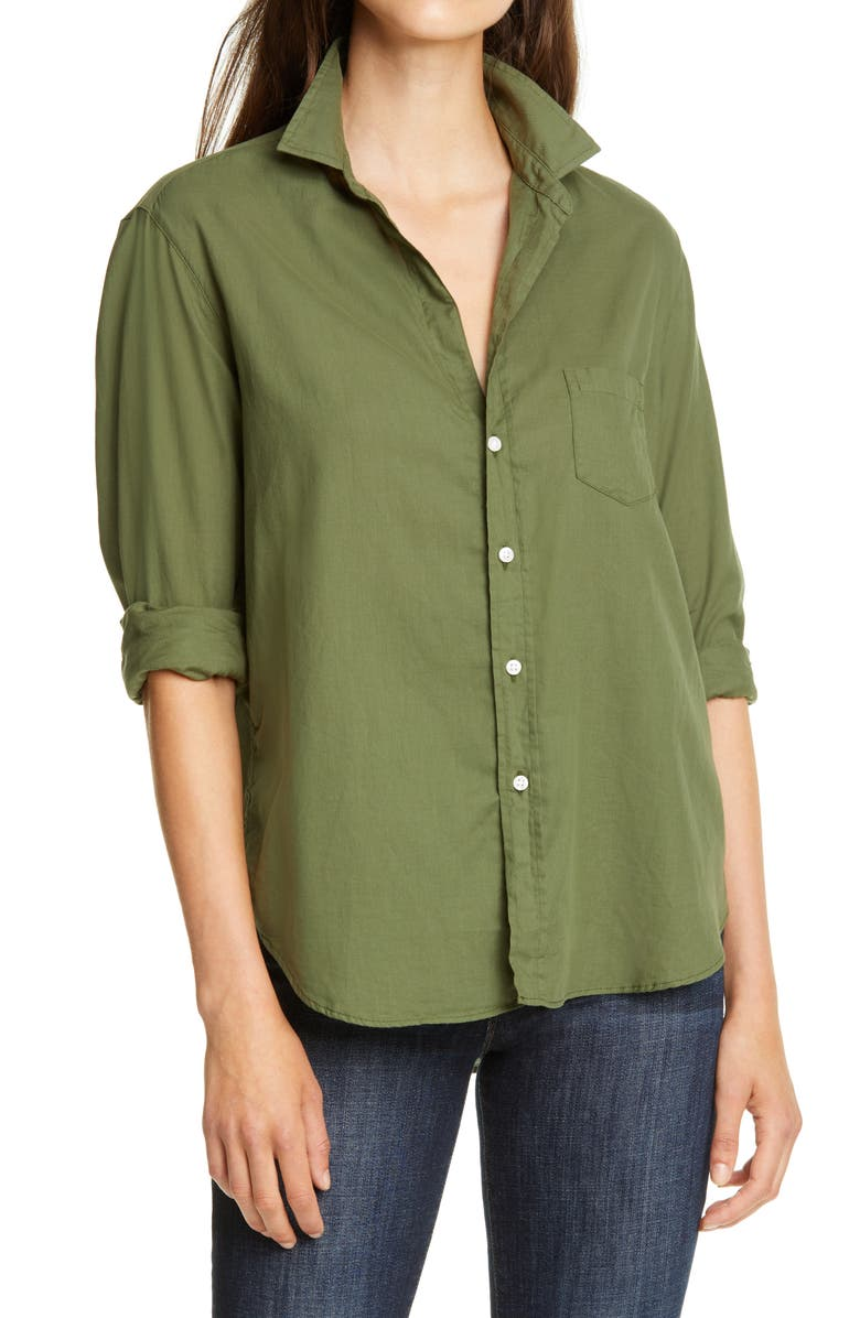 FRANK & EILEEN Eileen Casual Cotton Shirt, Main, color, 328