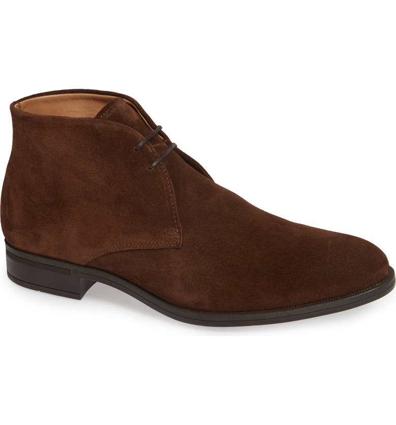 VINCE CAMUTO Iden Chukka Boot, Main, color, CHOCOLATE SUEDE