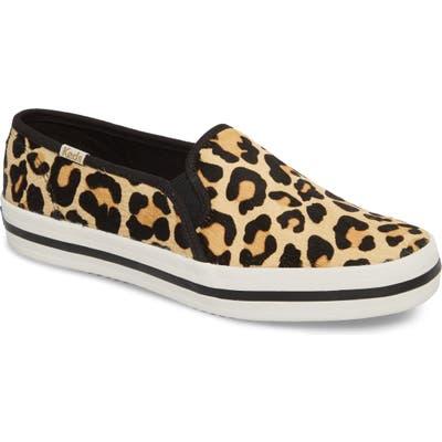 Keds X Kate Spade Double Decker Slip-On Sneaker, Beige