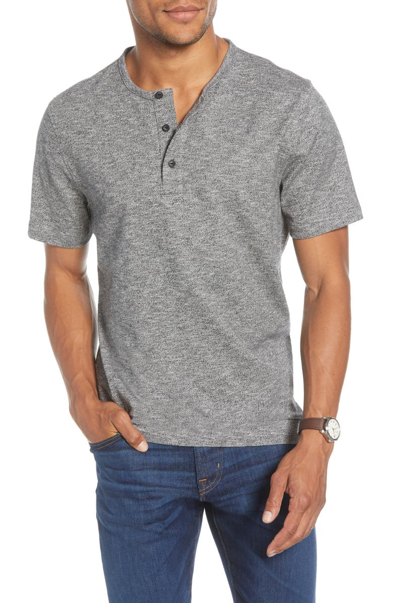1901 Marl Henley T-Shirt, Main, color, 030