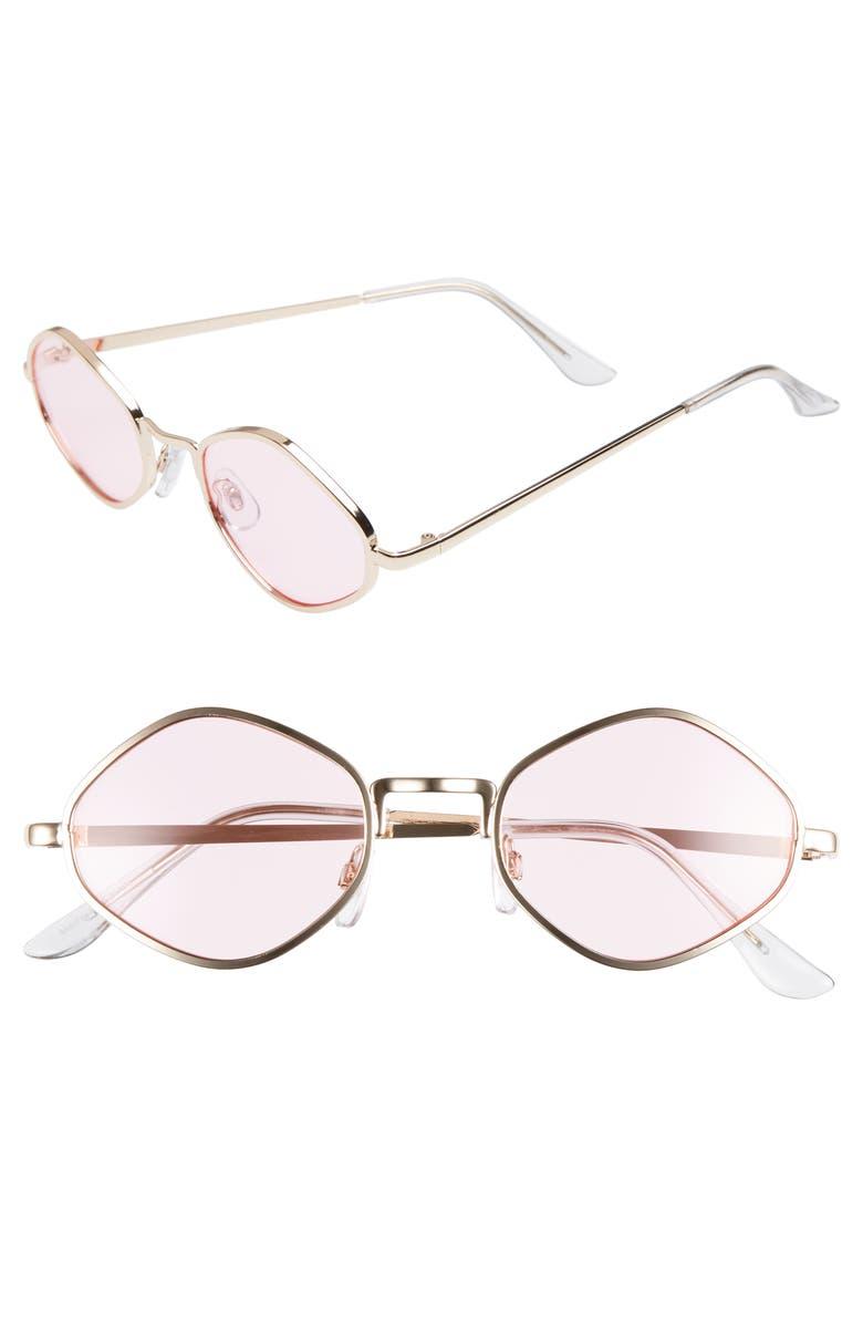 BP. 48mm Small Geo Sunglasses, Main, color, 710