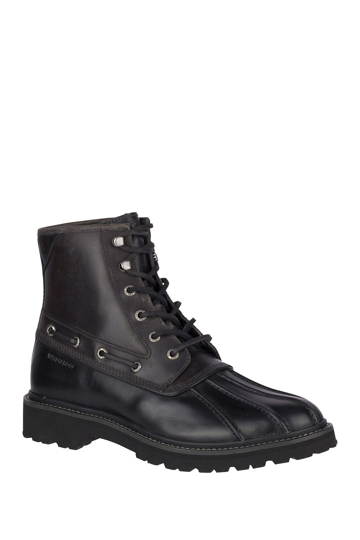 Gold Cup Waterproof Leather Duck Boot