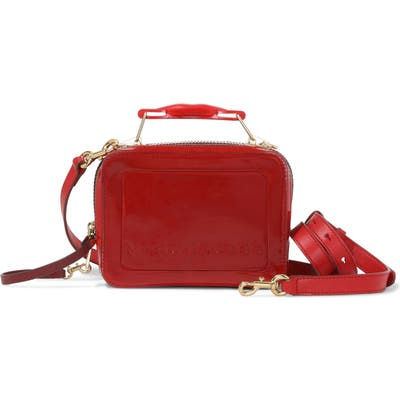 Marc Jacobs The Box 20 Patent Leather Crossbody Bag - Red