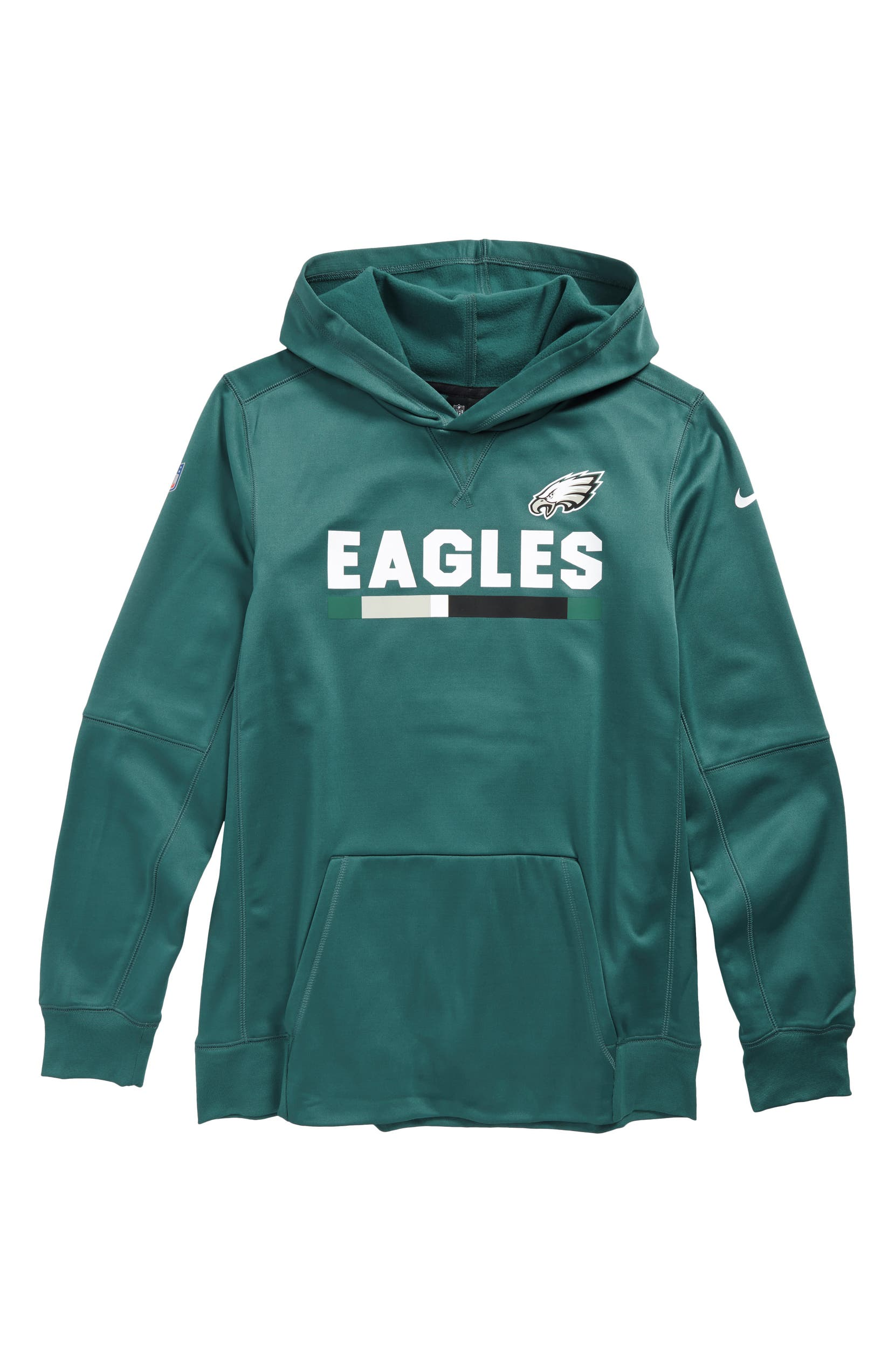 watch 2d45a 7046a Nike Therma Philadelphia Eagles Hoodie (Big Boys) | Nordstrom