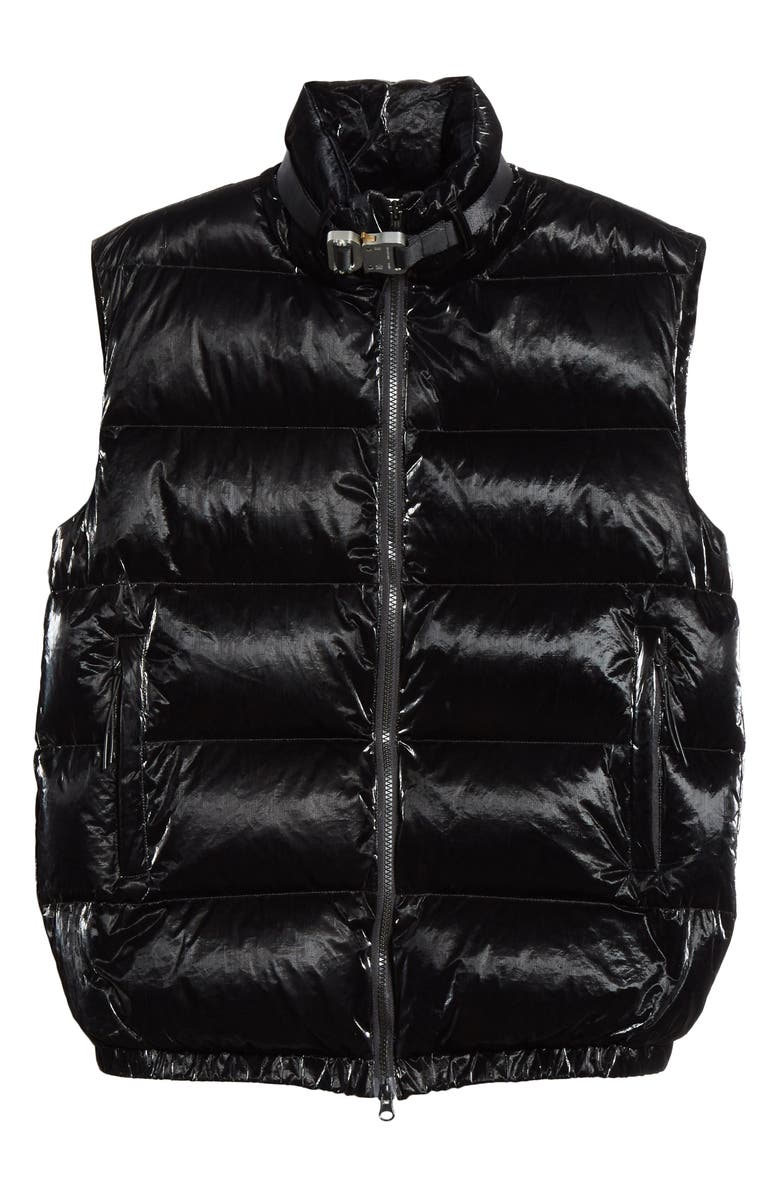 1017 ALYX 9SM Down Puffer Vest, Main, color, BLACK