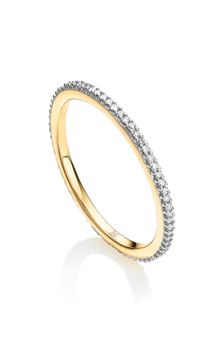 MONICA VINADER Diamond Eternity Ring, Main, color, GOLD/ DIAMOND