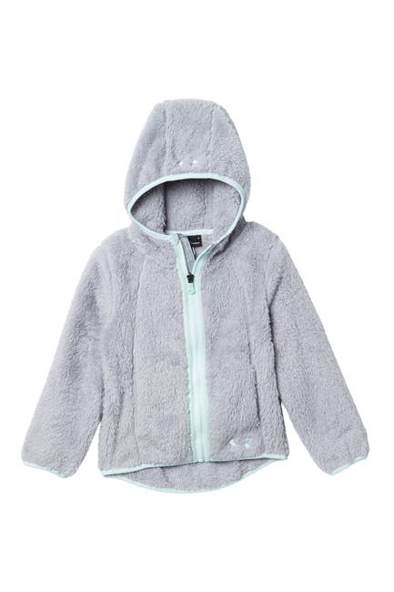 Image of Under Armour Cozy Faux Fur Fleece Zip Hoodie