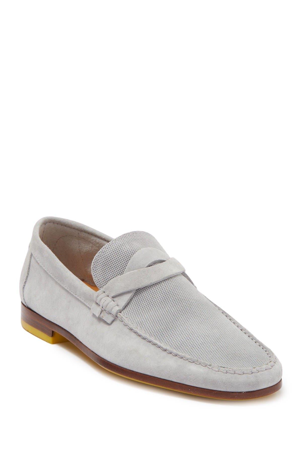Image of Donald Pliner Hockney Leather Loafer