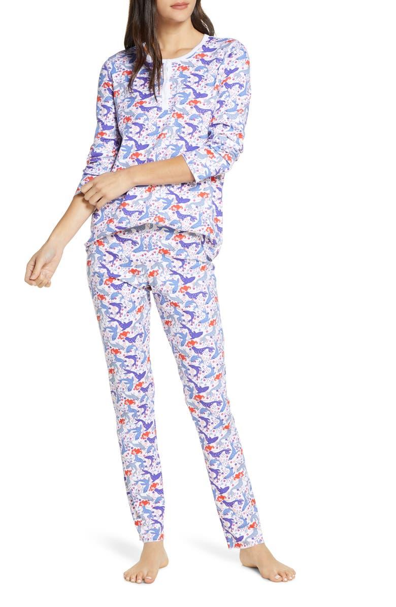 ROLLER RABBIT Selkie Pajamas, Main, color, 500