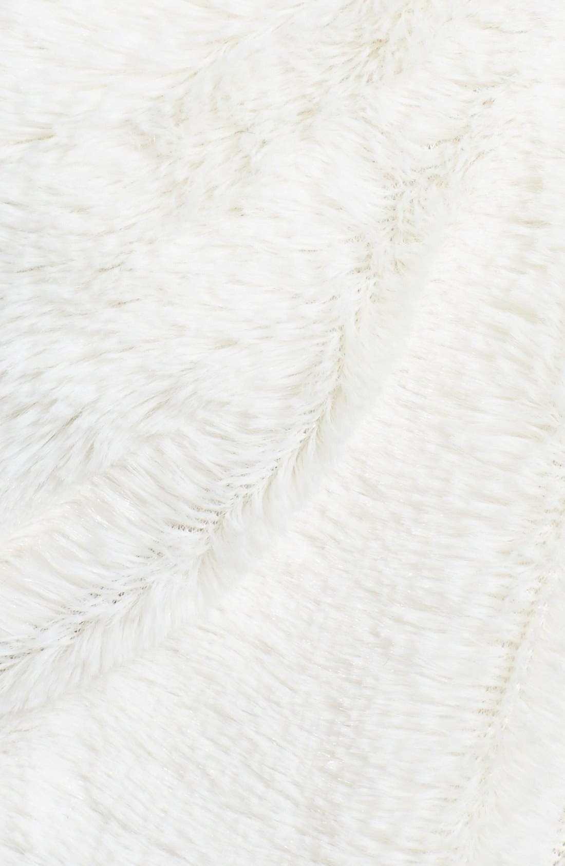 ,                             Faux Fur Infinity Scarf,                             Alternate thumbnail 12, color,                             900