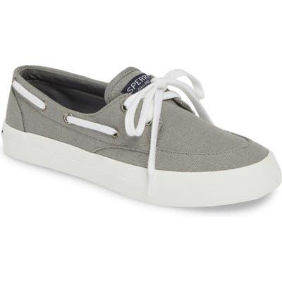 Sperry Crest Boat Sneaker- Grey