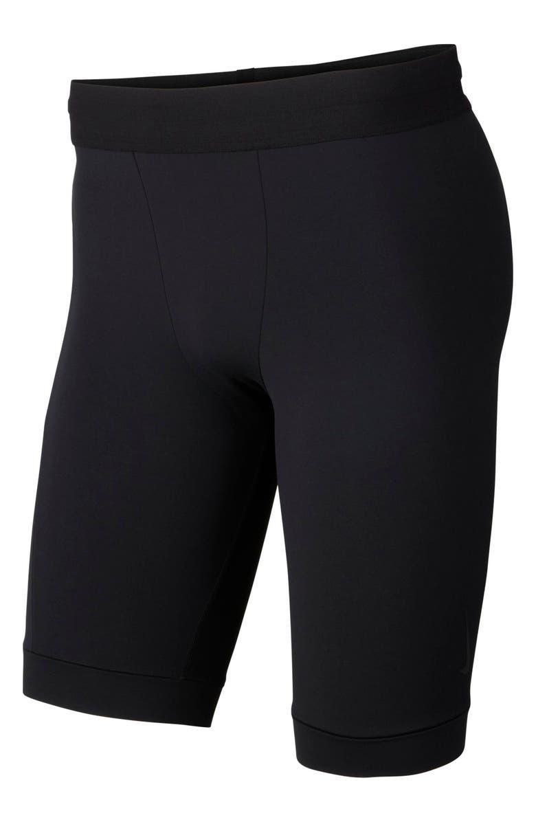 NIKE Dri-FIT Yoga Shorts, Main, color, BLACK/ BLACK