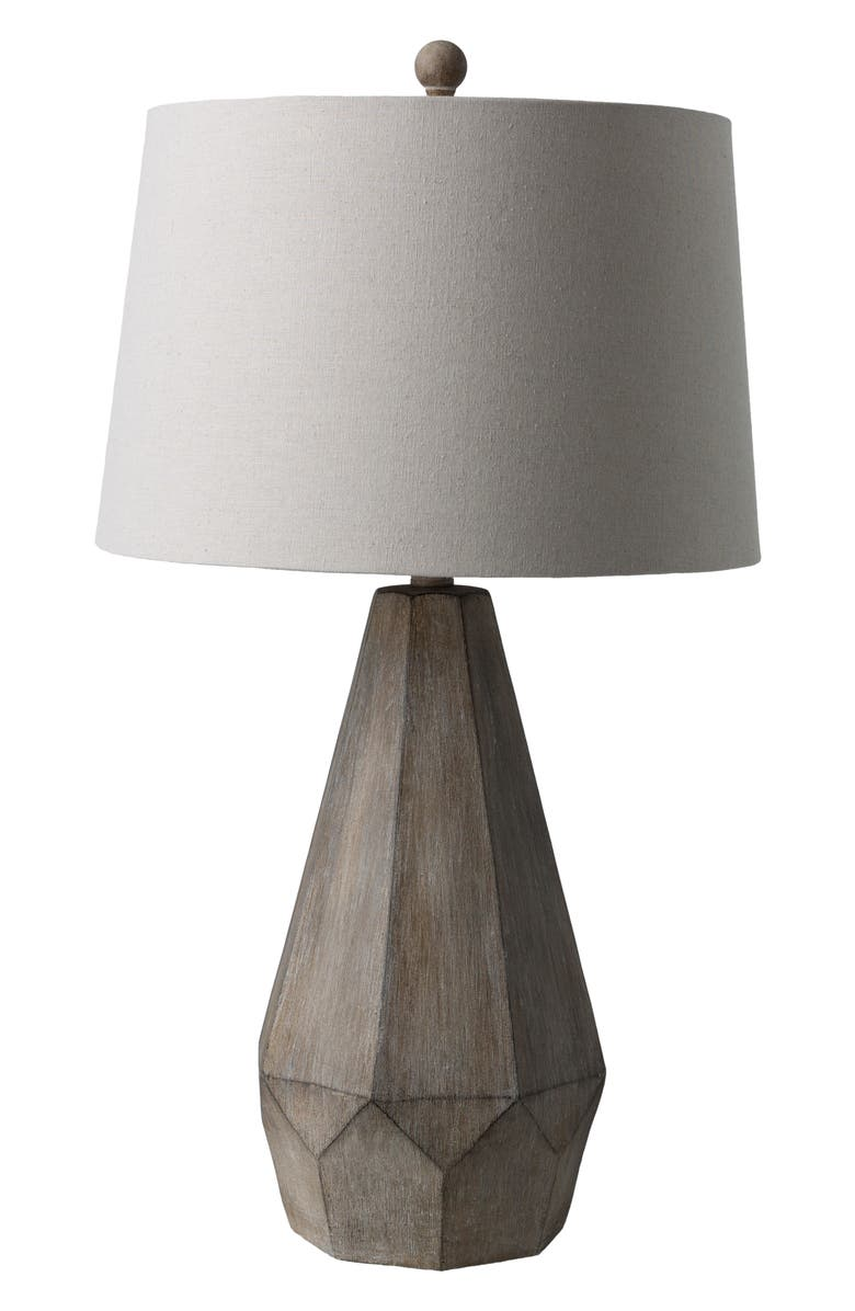 SURYA HOME Draycott Table Lamp, Main, color, TAUPE