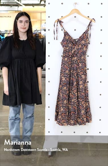 Kali Floral Tiered Sundress, sales video thumbnail