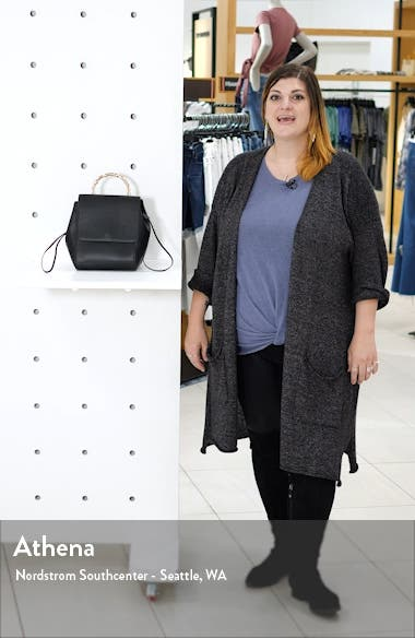 Bella Faux Leather Backpack, sales video thumbnail