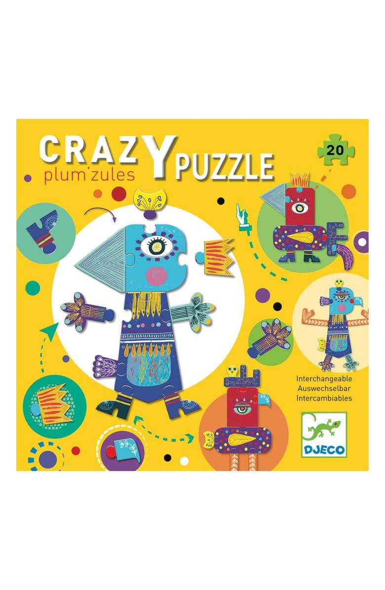 DJECO Crazy Puzzle Giant Floor Puzzle, Main, color, MULTI