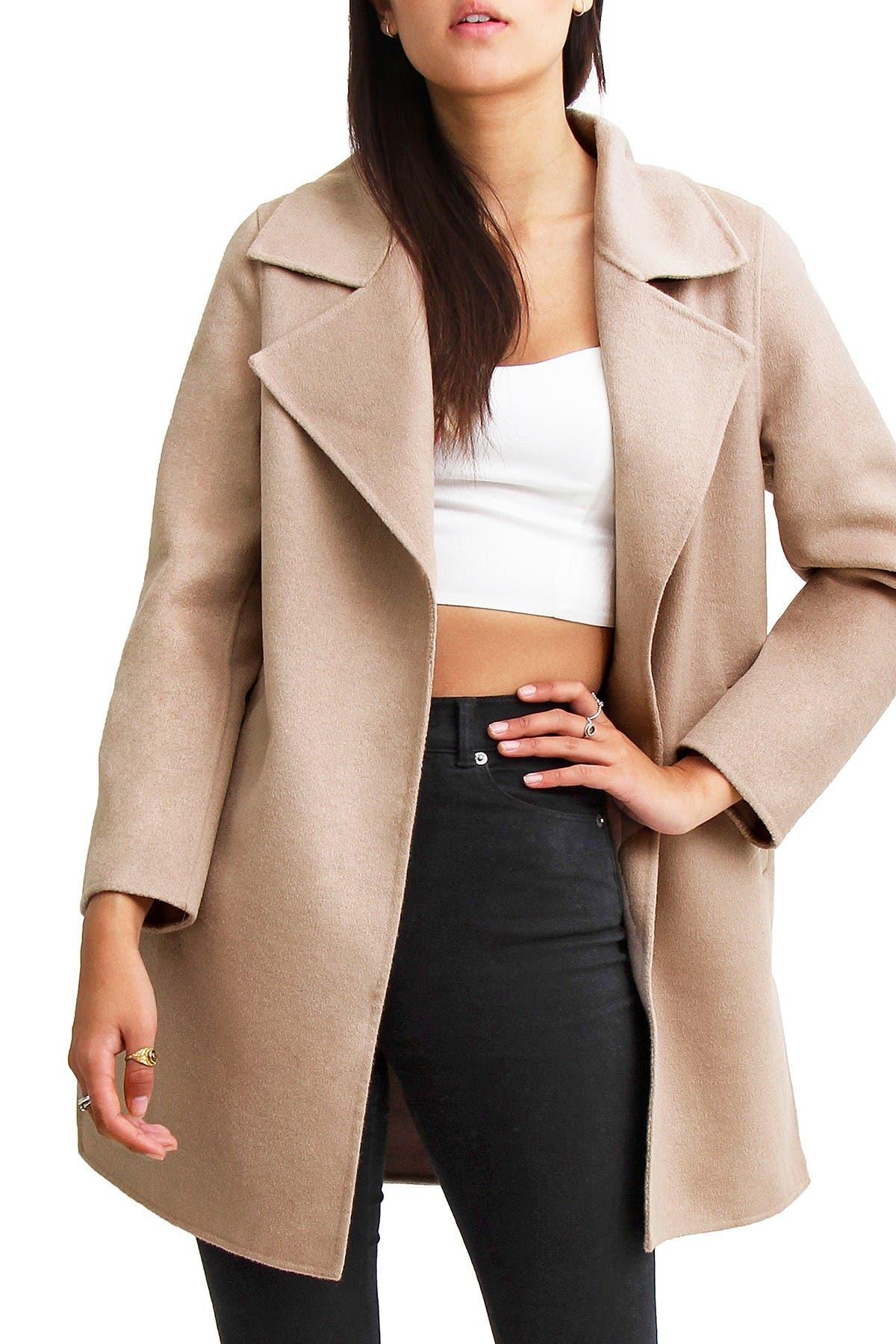Image of Belle & Bloom Ex Boyfriend Wool Blend Coat